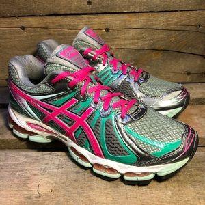 Asics Gel Nimbus 15 Green Running Shoes